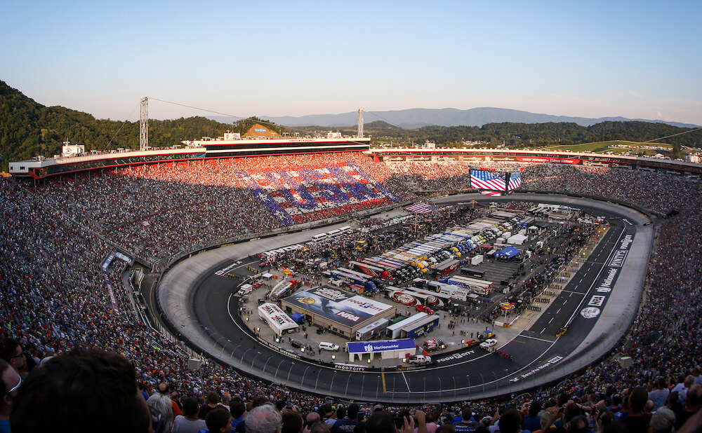 Track at Bristol Motor Speedway and Dragway