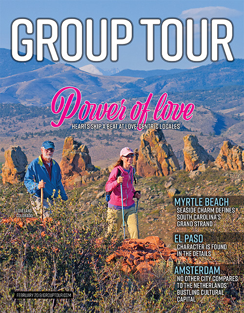The February 2019 issue of Group Tour magazine is online.