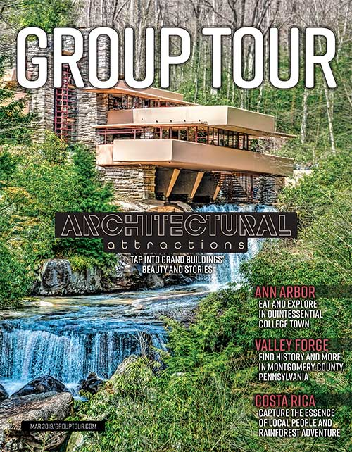 March 2019 Northeast/Midwest Group Tour Magazine cover