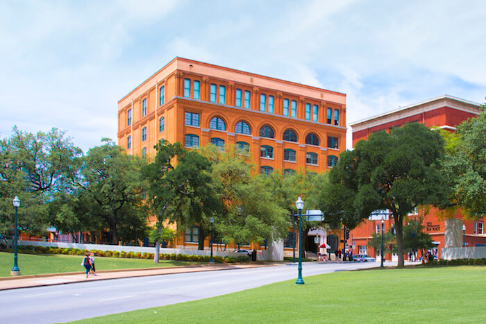 The Sixth Floor Museum at Dealey Plaza, Dallas, Texas