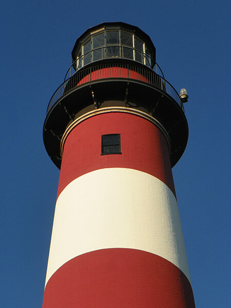 Chincoteague Chamber of Commerce Lighthouse
