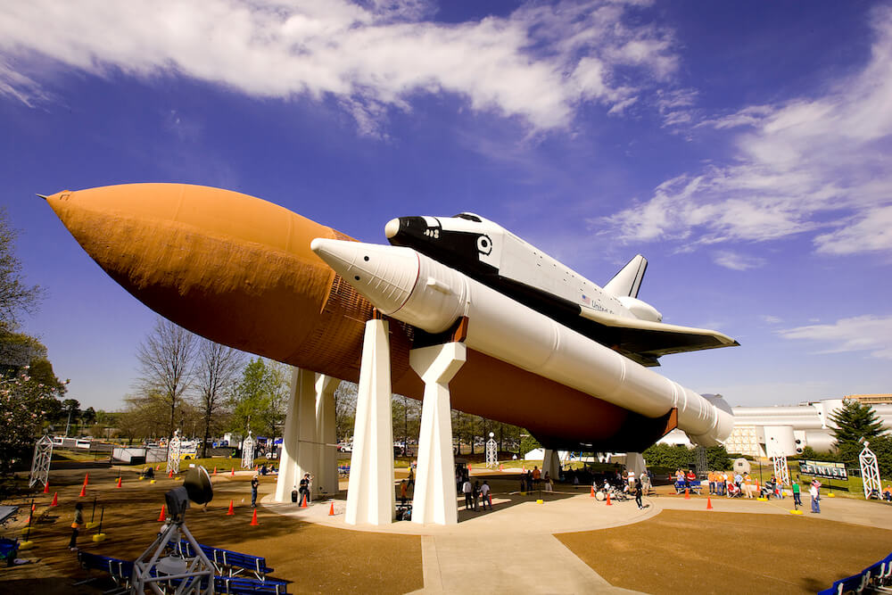 U.S. Space & Rocket Center in Huntsville, Alabama