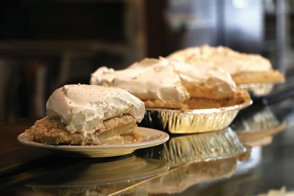 Homemade pies at Der Dutchman in Sarasota, Florida