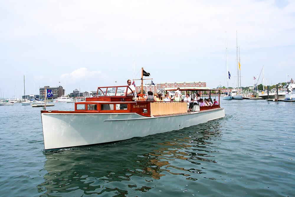 Rum Runner II boat in Newport, Rhode Island