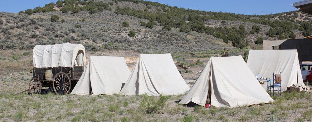 Elko wagon encampment