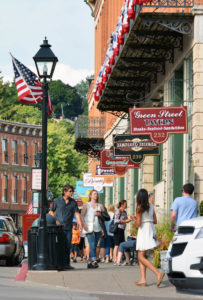 Main Street shopping, Galena, Ill.
