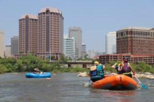 Whitewater rafting, RVA Paddlesports, Richmond, Va.