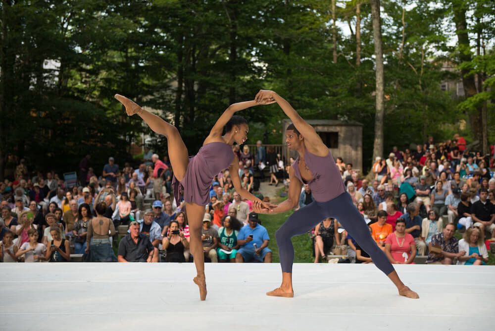 Jacobs Pillow Dance Festival in Becket, Massachusetts