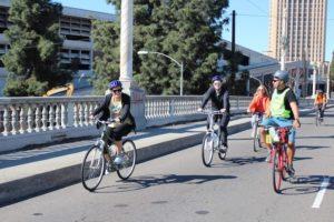 Group tour, LA Cycle Tours, Los Angeles, Calif.