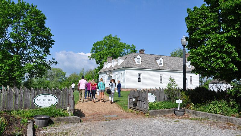 Historic Smithfield Plantation Montgomery County VA Regional Tourism