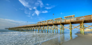 Pier in Myrtle Beach, South Carolina