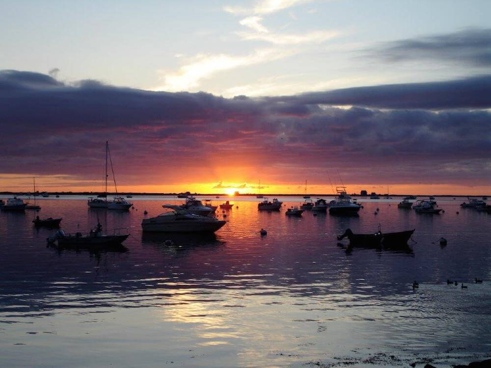 Plymouth Harbor, Plymouth, Mass.