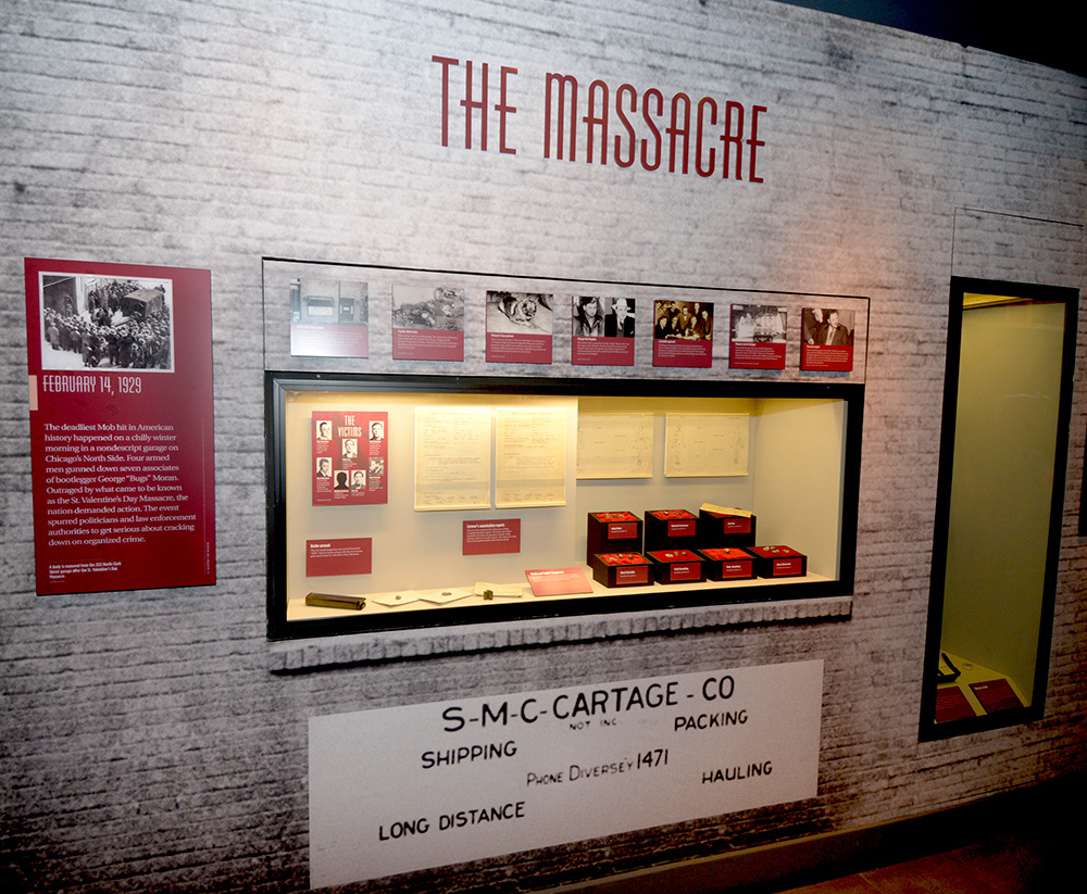 The Mob Museum captivates groups with crime history