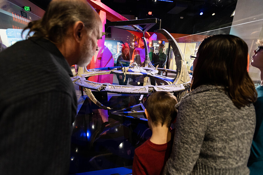 The Children's Museum of Indianapolis Star Trek exhibit