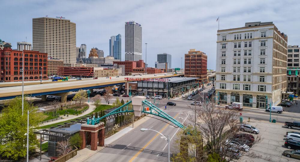 Third Ward Skyline, Milwaukee, Wis.