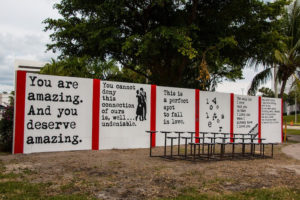 WRDSMTH mural, Palm Beaches, Fla.