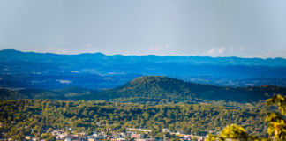 Skyline view of Johnson City, Tennessee