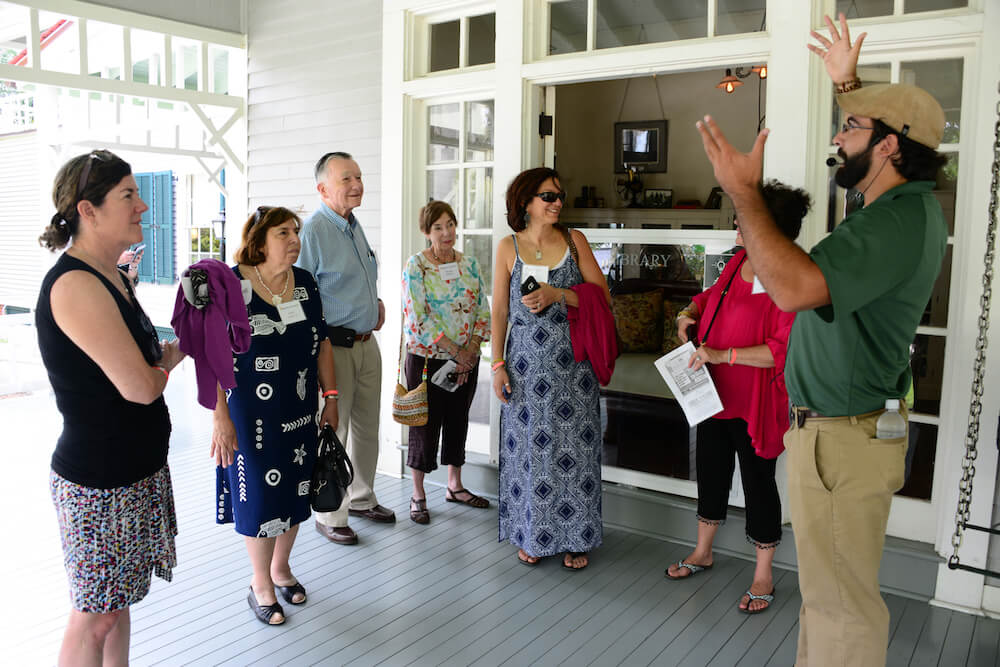 Group tour, Edison and Ford Winter Estates, Fort Myers, Fla. Credit: Edison and Ford Winter Estates