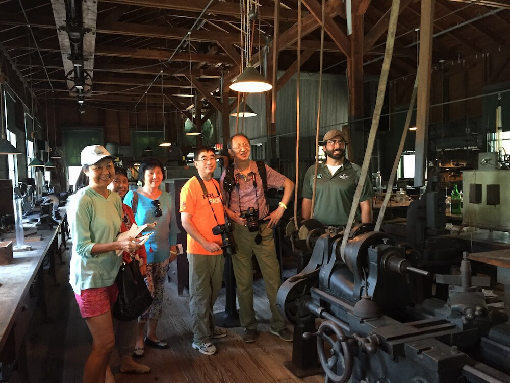 Group tour, Edison and Ford Winter Estates, Fort Myers, Fla.