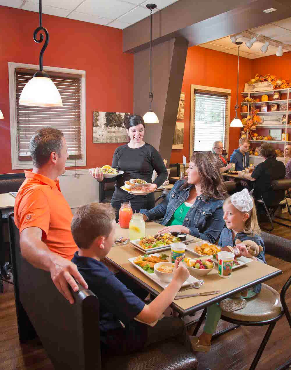Pure & Simple Restaurant, Gaither Family Resources, Alexandria, Ind. Credit: Anderson/Madison County Visitors Bureau