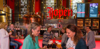Jopenkerk Haarlem - Grand Café, High Beer Credit: ©Eating Europe