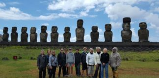 The Women's Travel Group at Easter Island