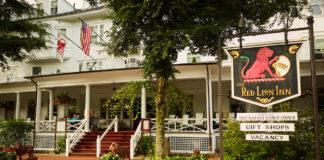 The Red Lion Inn in Stockbridge, Massachusetts