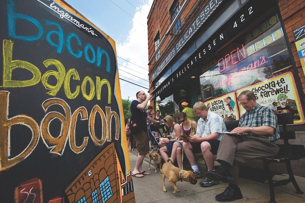 Zingerman's Deli, Ann Arbor, Mich. Credit: Destination Ann Arbor