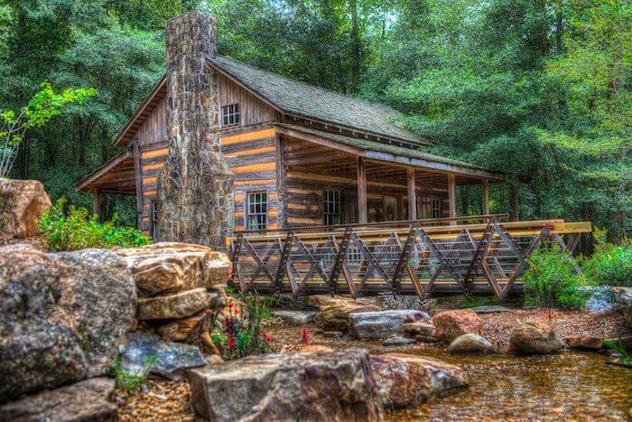 Hunt Cabin, South Carolina Botanical Garden, Clemson, S.C.