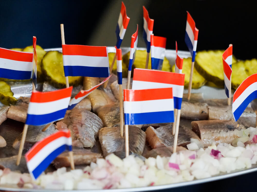 Pickled herring Credit: Eating Europe Haarlem