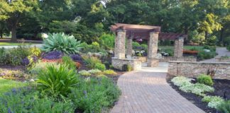 President's Plaza, South Carolina Botanical Garden, Clemson, S.C.