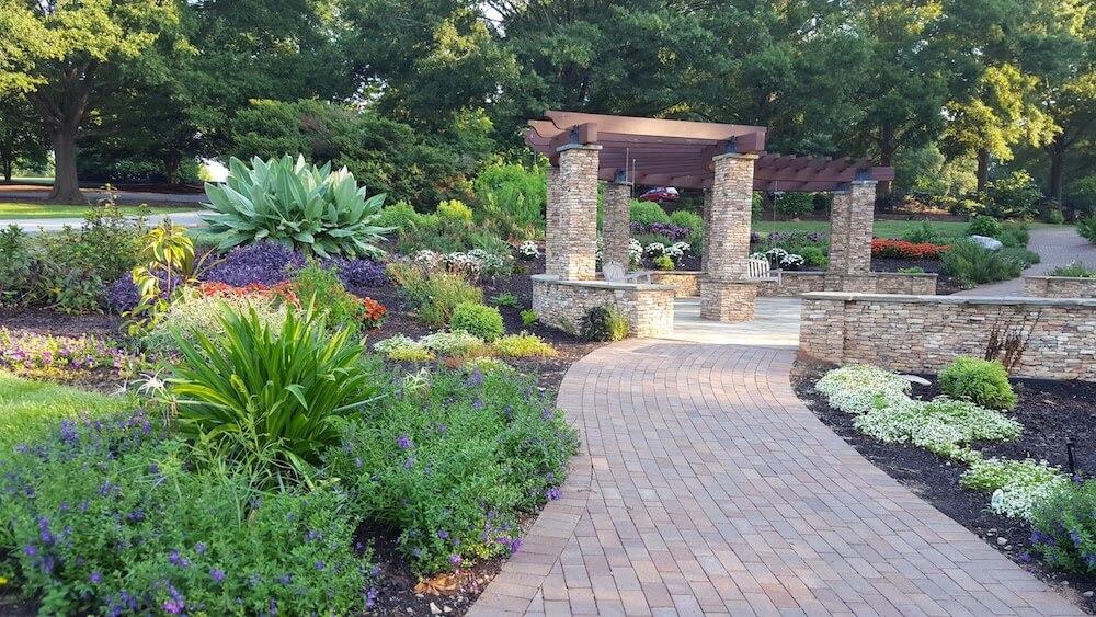President's Plaza, South Carolina Botanical Garden, Clemson, S.C.