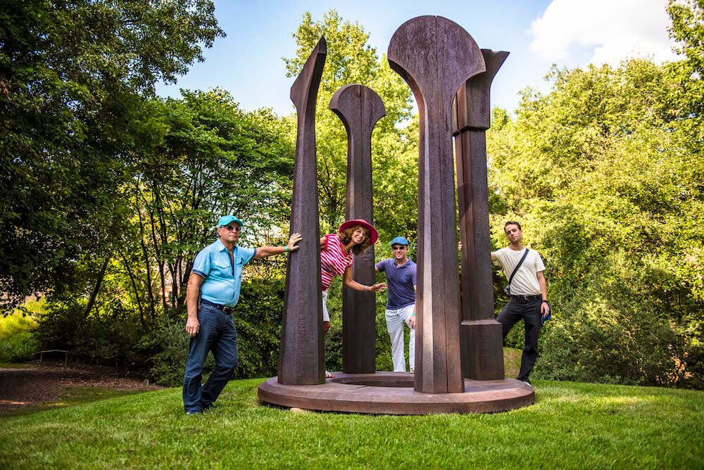 Split Ritual II by Beverly Pepper, Grounds for Sculpture, Hamilton, N.J. Credit: David Howarth