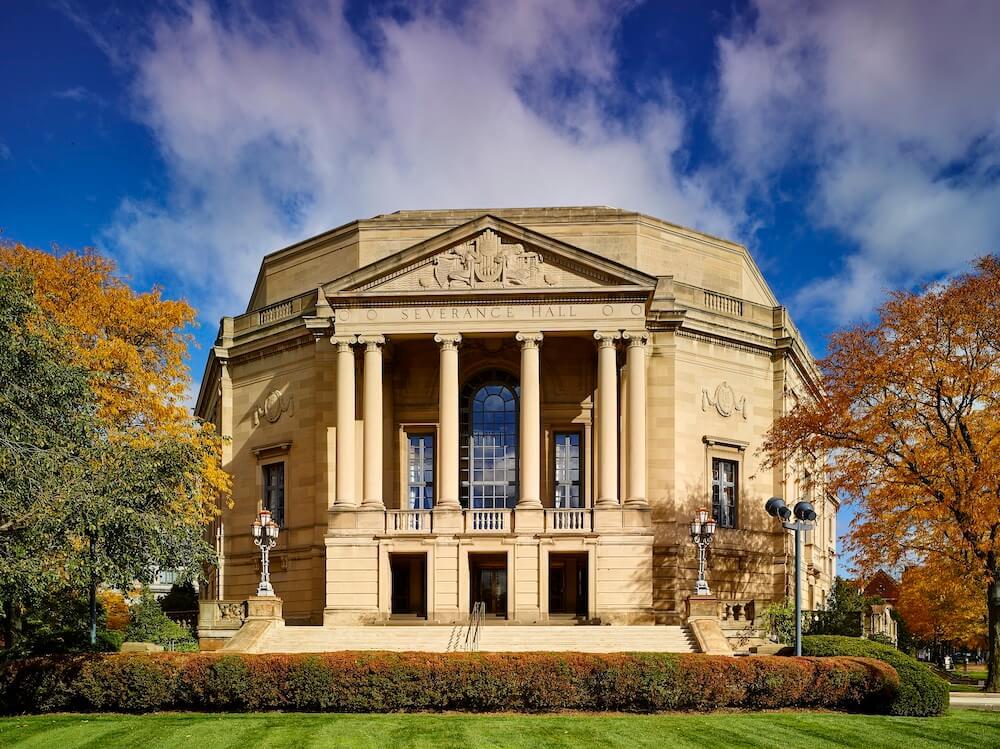 Severance Hall, Cleveland, Ohio Credit: Roger Mastroianni