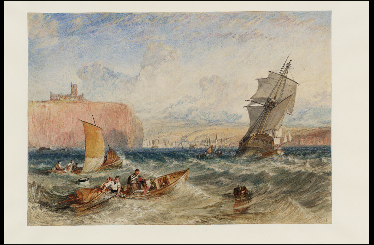Tate: Whitby, c. 1824, J .M. W. Turner (1775–1851) © Tate, London 2018