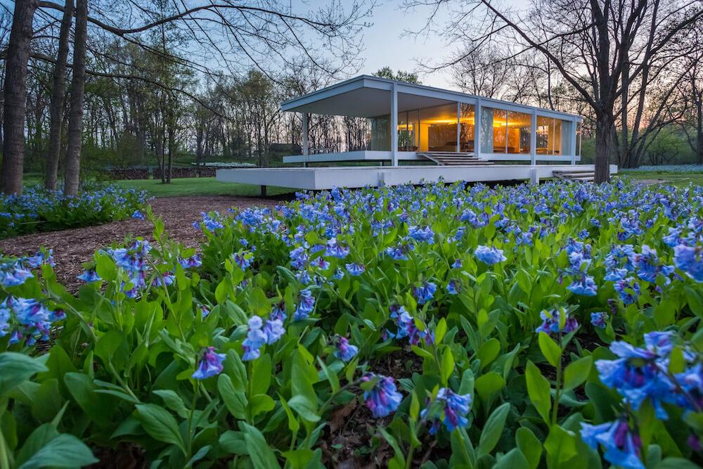The Farnsworth House, Plano, Ill. Credit: Jeff Goldberg