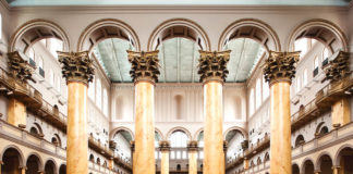 Great Hall, National Building Museum, Washington, D.C. Credit: Kevin Allen Photography