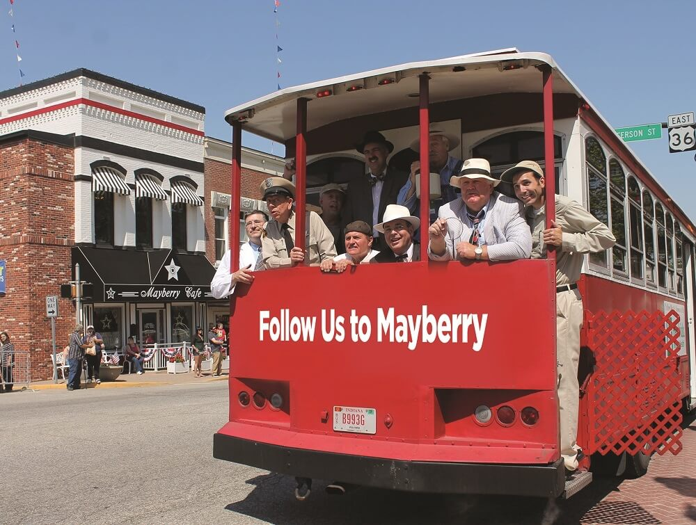 Mayberry in the Midwest festival, Danville, Ind. Credit: Visit Hendricks County