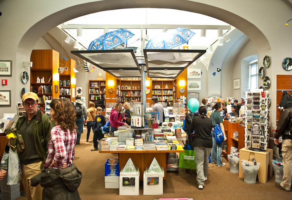 Museum shop, National Building Museum, Washington, D.C. Credit: Kevin Allen Photography