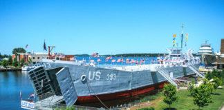 USS LST 393, Muskegon, Mich.