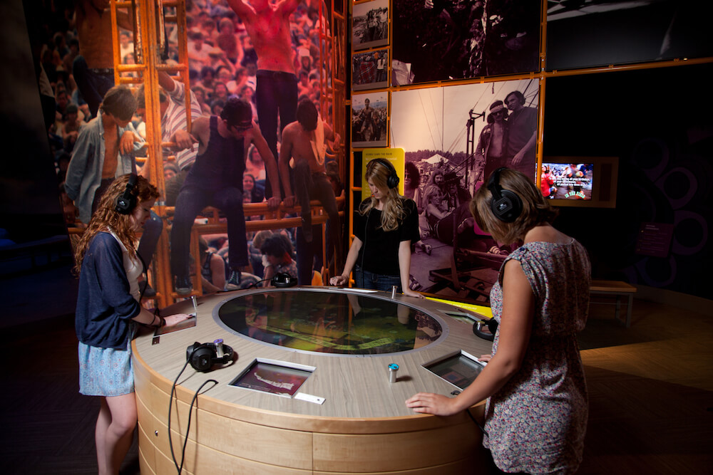 Museum at Bethel Woods, Bethel, N.Y. Credit: Courtesy of Bethel Woods Center for the Arts Woodstock