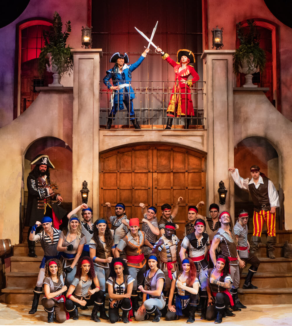 Pirates Voyage Dinner & Show in Pigeon Forge, Tenn., features custom costumes. Credit: Pirates Voyage Dinner & Show