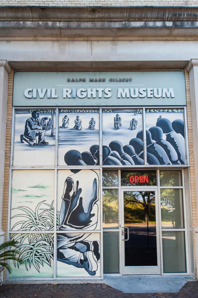 Ralph Mark Gilbert Civil Rights Museum in Savannah, Georgia