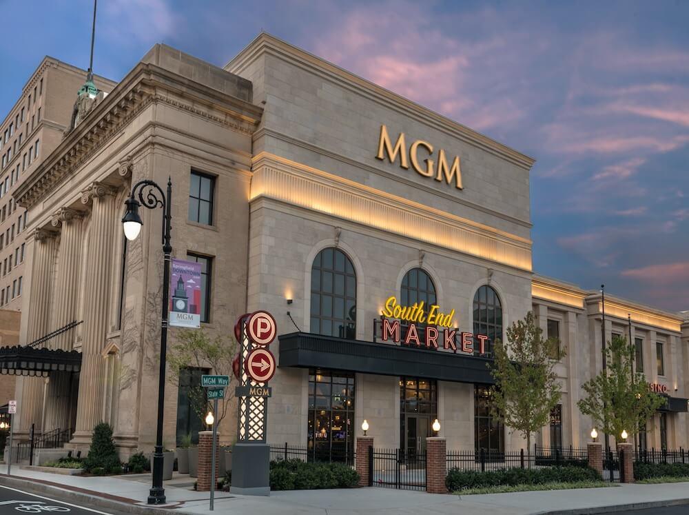 MGM Springfield, Springfield, Mass. Credit: MGM Springfield