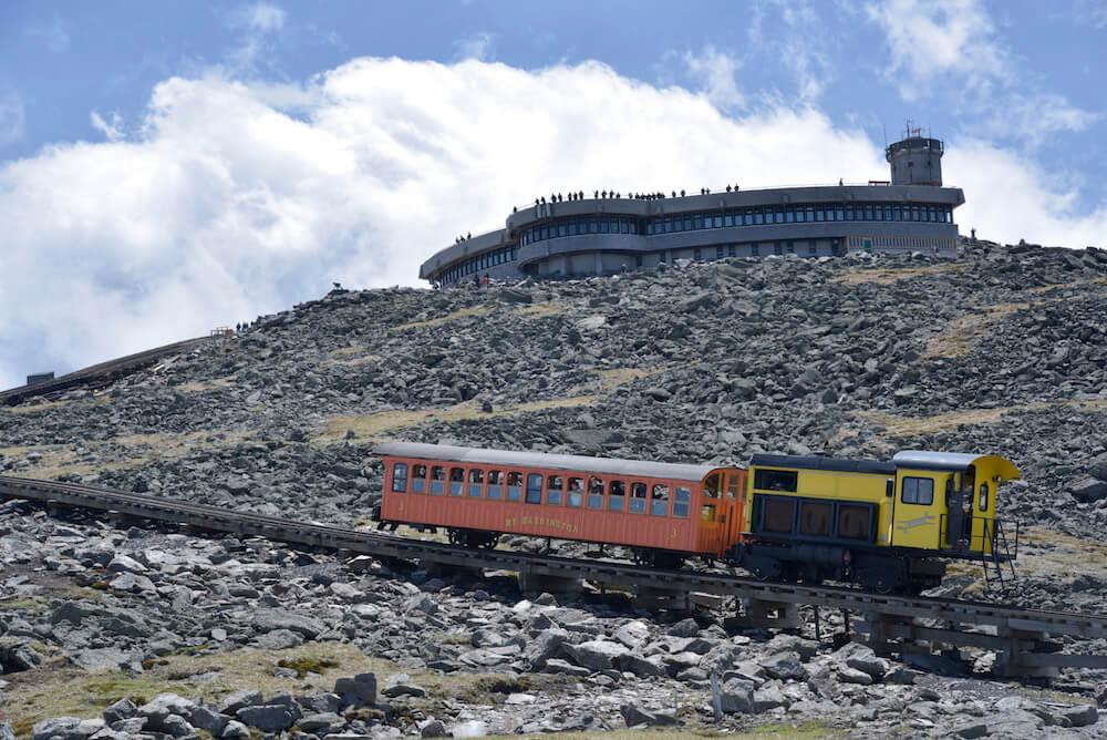 Mount Washington Cog Railway celebrates 150 years.
