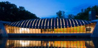 Crystal Bridges Museum of Art in Bentonville, Arkansas