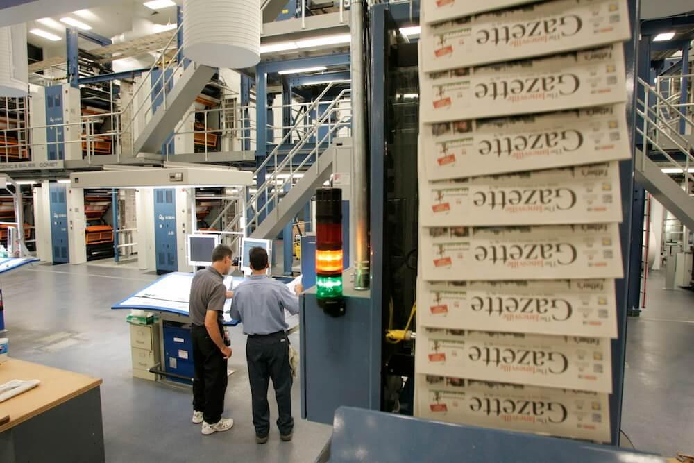 Bliss Printing Facility,