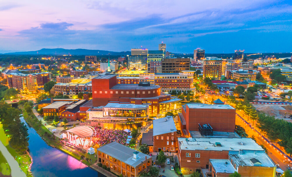 Greenville, South Carolina, skyline