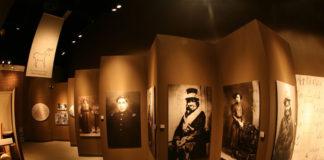 Exhibits inside Ziibiwing Center