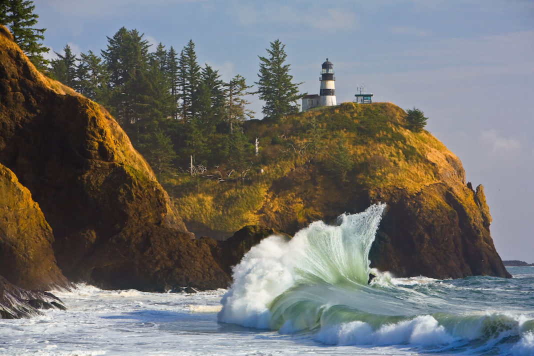 Cape Disappointment Lighthouse, Ilwaco, Wash.